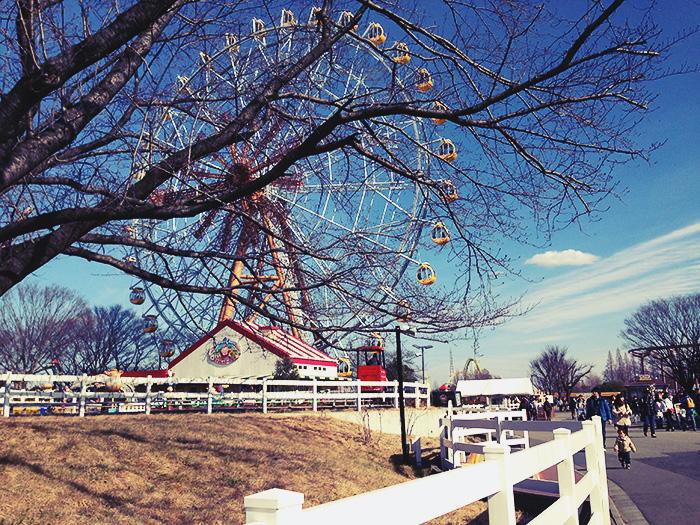 東武動物公園遊園地ゾーンにやってきました
